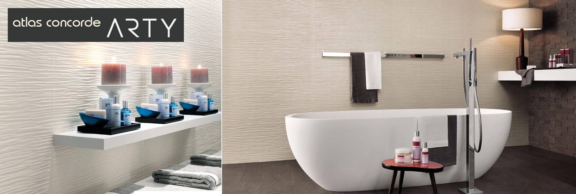 Atlas Concorde atlas concorde arty ceramic wall tile wave