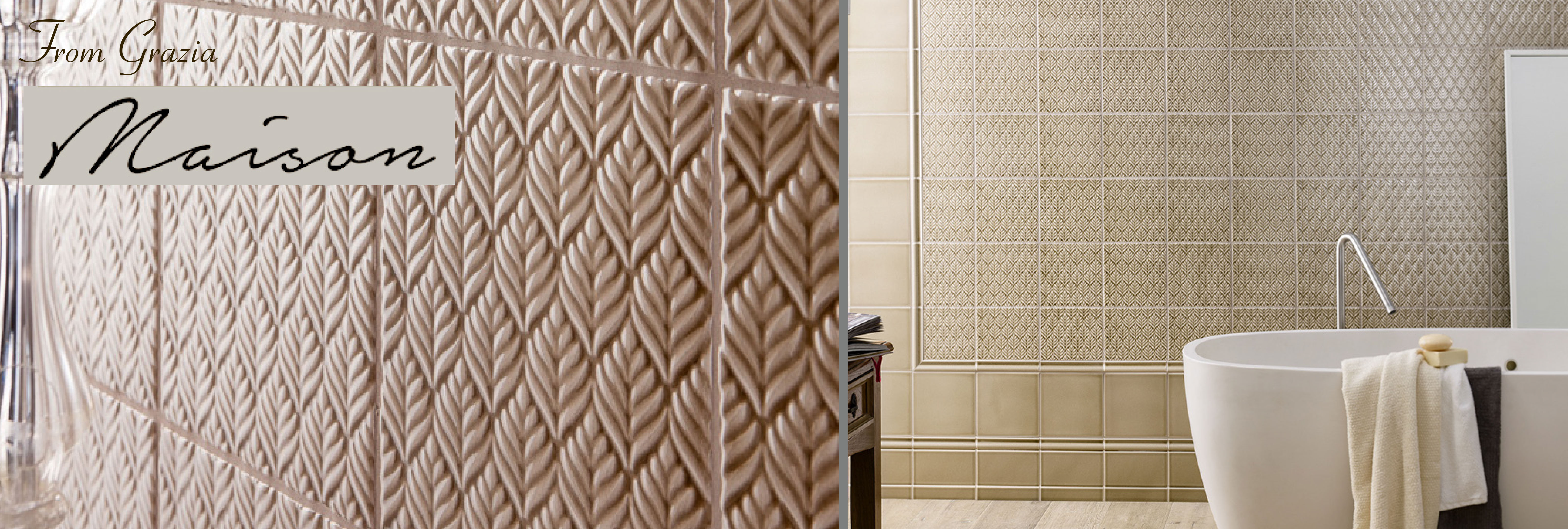 Grazia Maison Italian Ceramic Wall Tile