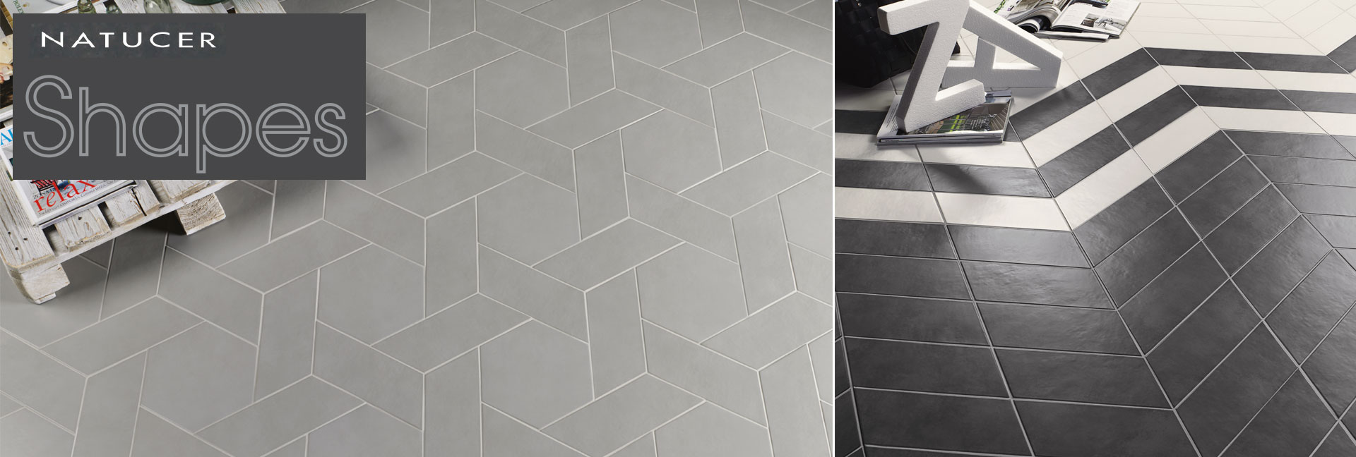 Natucer Shapes Porcelain Tile