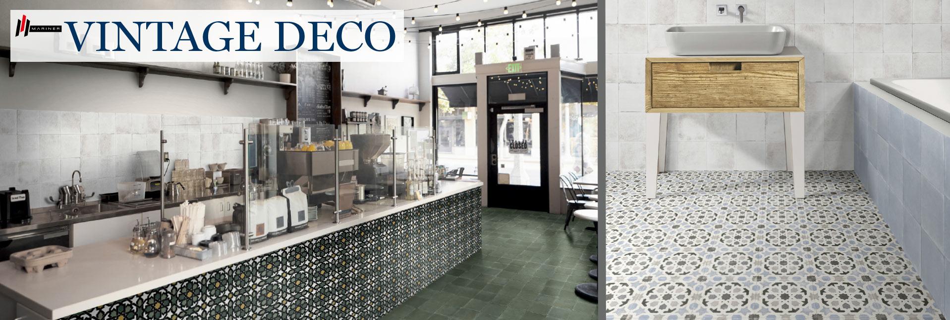 Mariner Vintage Deco - Italian Porcelain Tile